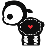 Наклейка Skelanimal Lamb.